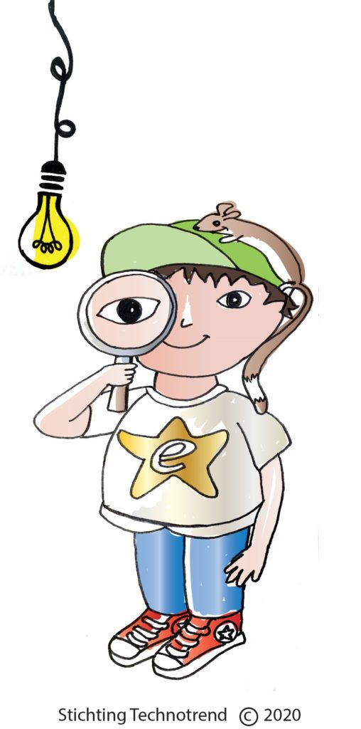 jonge detective IRIS